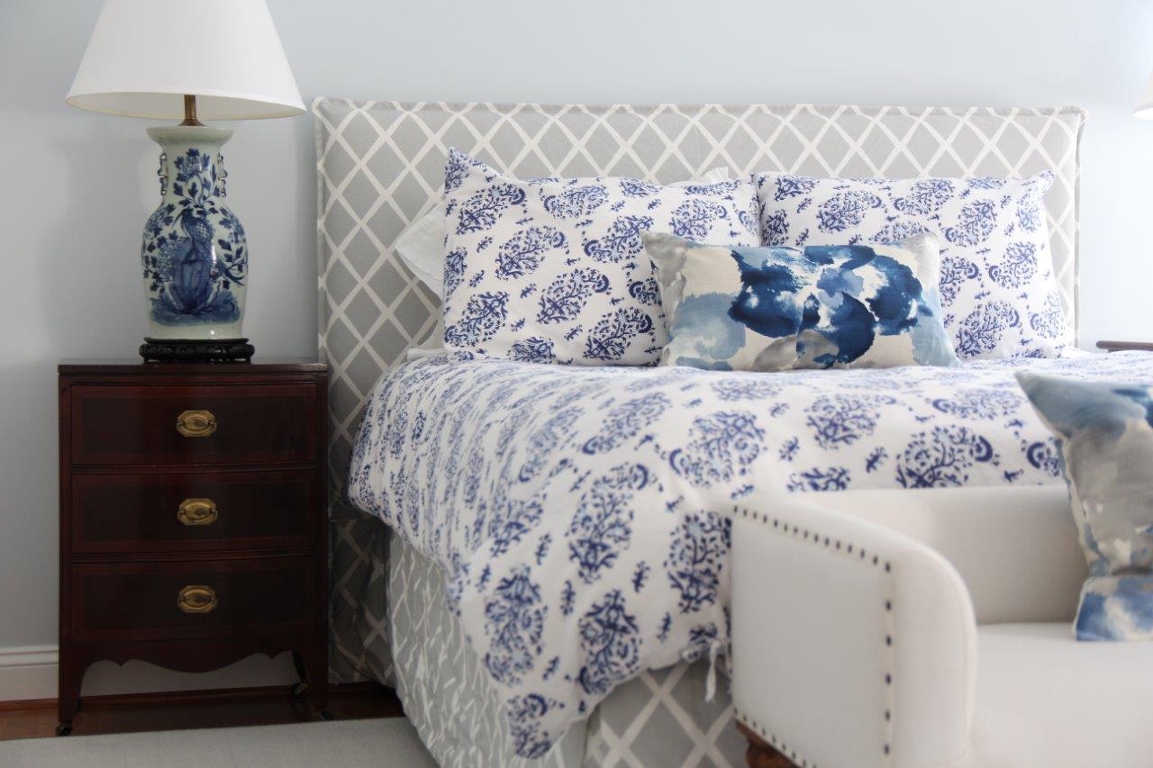 CVille Blue Bed